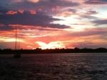 Sunset right off of Barnagat Light