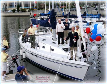 Launching of 387 - 362